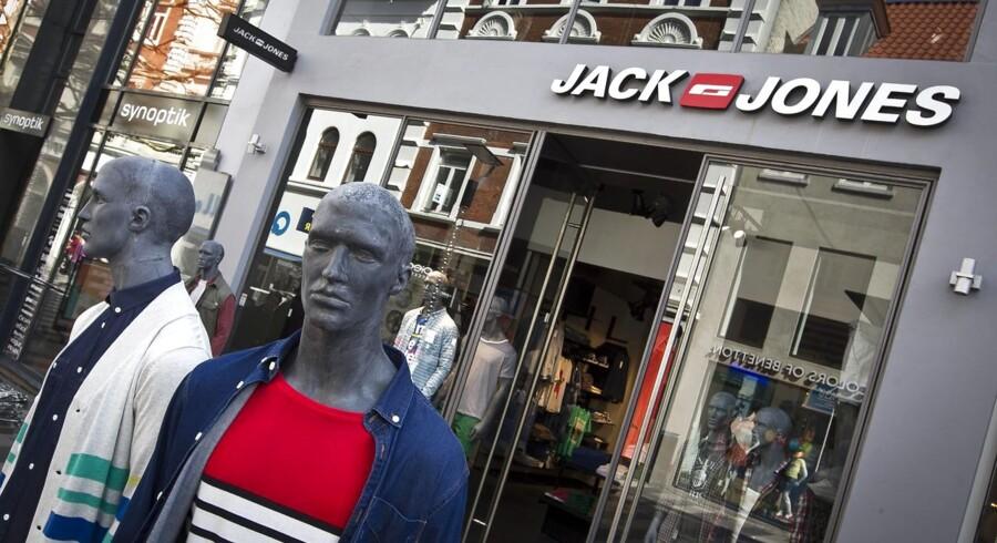 historie om, at 3/4 af butikkerne på strøget er kædebutikker - altså H&M, Matas, Kop og Kande, Nyt Syn, Bestseller osv -