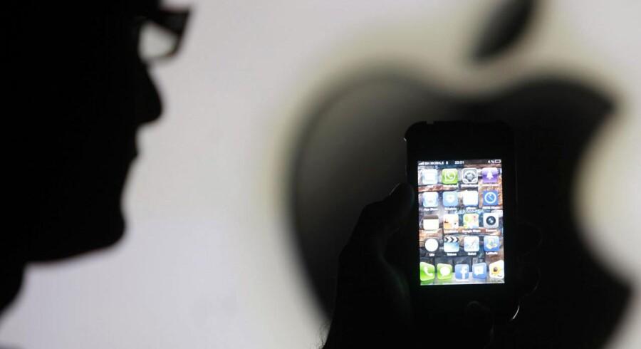 Apple præsenterer angiveligt ny iPhone den tiende september, skriver amerikansk medie. Foto: Scanpix