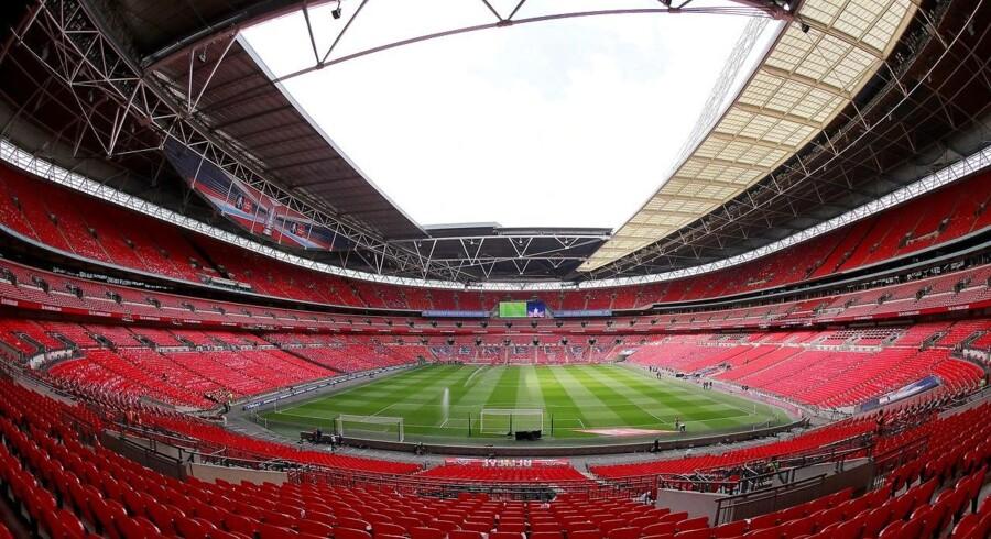 ARKIVFOTO: Wembley Stadion
