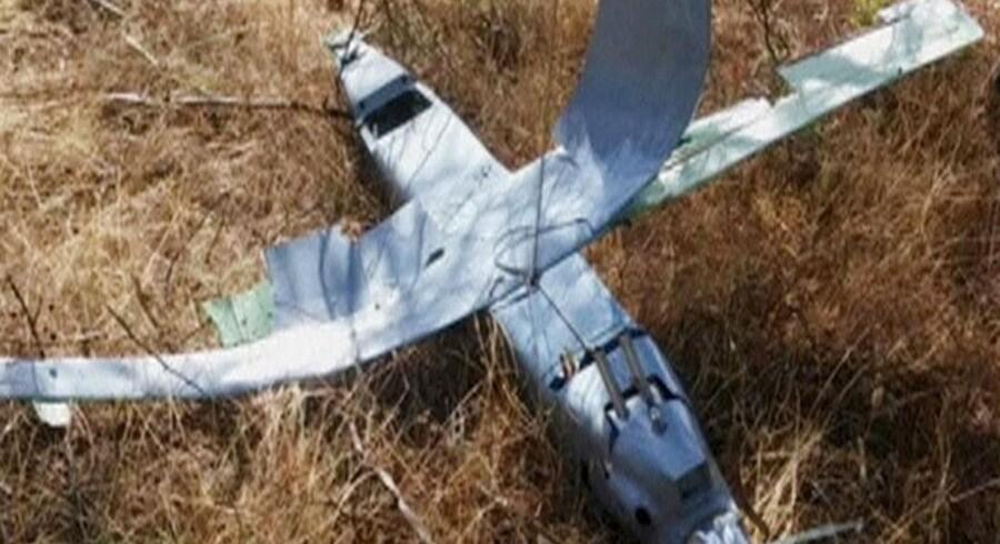 Dronen er ifølge Tyrkiet russisk. Rusland har flere gange på det seneste krænket tyrkisk luftrum.