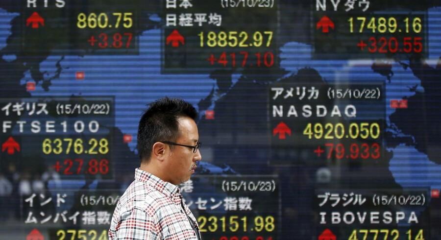 Arkivfoto: De asiatiske aktiemarkeder ligger blandet torsdag morgen, hvor analytikere og investorer har travlt med at evaluere de lokale effekter af Federal Reserves forventede renteforhøjelse og de efterfølgende kommentarer om inflation og forventede fremtidige stramninger.