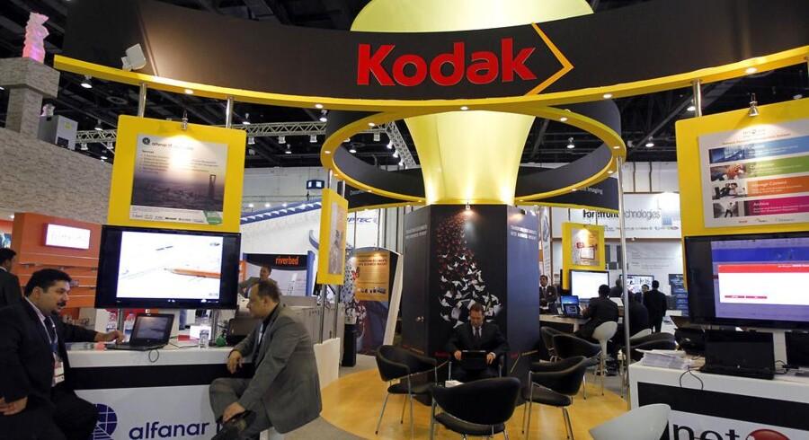 Fotopioneren Kodak har hele året arbejdet for at undgå en konkurs. Nu sælges der ud af patentsamlingen for at få penge til at betale regningerne. Arkivfoto: Jumana ElHeloueh, Reuters/Scanpix