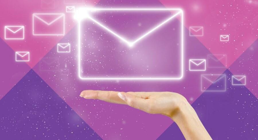 1. november skal alle danskere over 15 år have en digital postkasse, som det offentlige kan aflevere breve i. Opretter man den ikke selv (via www.borger.dk), bliver den oprette for én. Arkivfoto: Iris/Scanpix