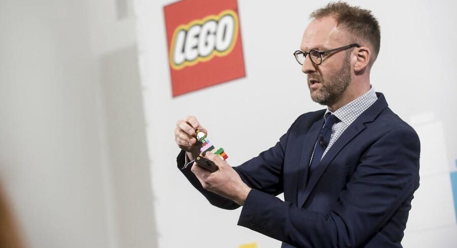 Jørgen Vig Knudstorp er stadig topmotiveret for at føre Lego frem til mere vækst, efter han igen har kunnet levere et imponerende flot regnskab med næsten 20 procent vækst på omsætningen.