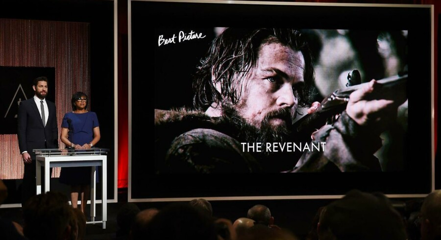 The Revenant er nomineret til 12 Oscars - heriblandt for bedste film.