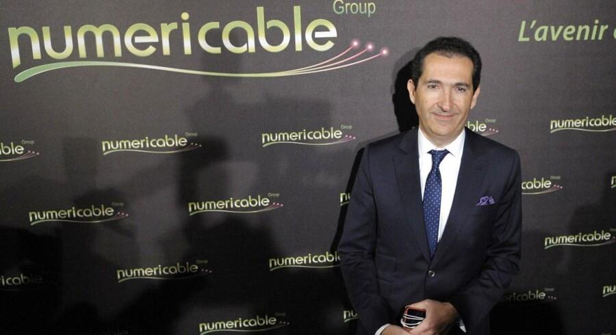 Milliardæren Patrick Drahis Numéricable byder 10 milliarder euro for at overtage sin nærmeste konkurrent, Bouygues Telecom. Arkivfoto: Eric Piermont, AFP/Scanpix