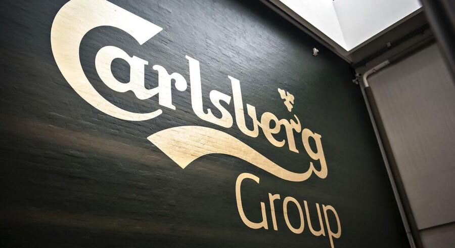Arkivfoto. Bryggerikoncernen Carlsberg.