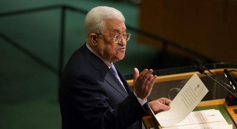 Arkivfoto: Mahmoud Abbas.