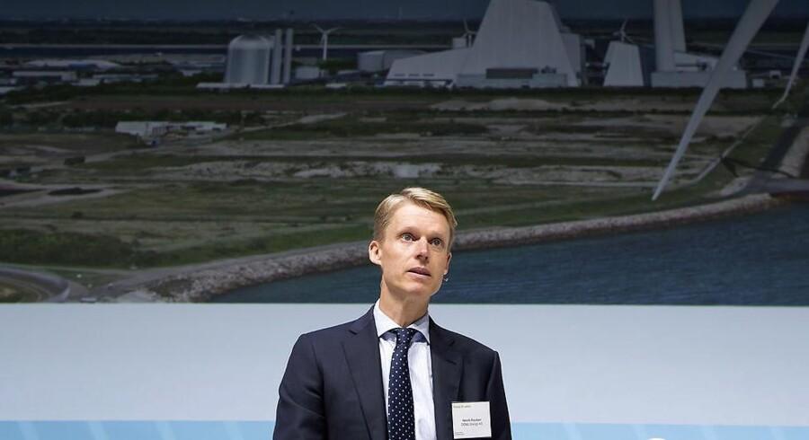 Adm. direktør Henrik Poulsen fra DONG Energy har netop offentliggjort koncernens regnskab for tredje kvartal.