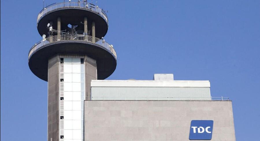 TDC forhandler for tiden med både svenske Ericsson og kinesiske Huawei om, hvem af dem der fremover skal stå for TDCs mobilnet i Danmark. Arkivfoto: Torben Christensen, Scanpix