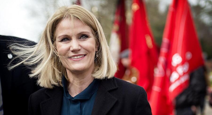 »Det var en skandale og en sort dag for dansk fodbold, at den kamp ikke blev spillet,« siger Helle Thorning-Schmidt.