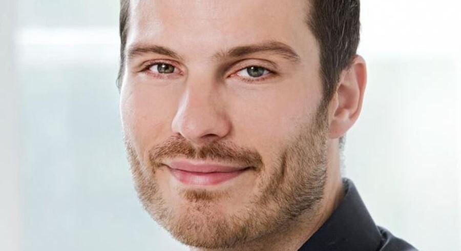 Mathias Birkvad, direktør for reklamebureauet CP+B Copenhagen.