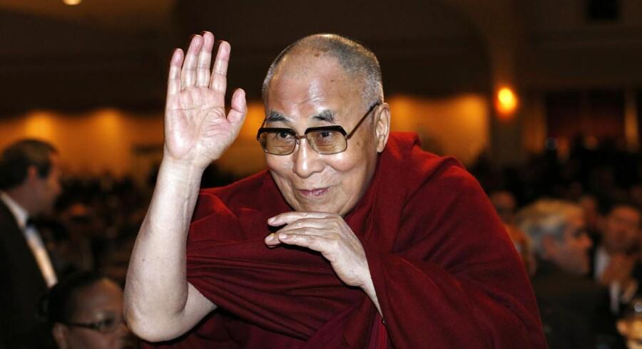Dalai Lama - statslederne har deres mas med hans visitter. Foto: Kevin Lamarque/Scanpix