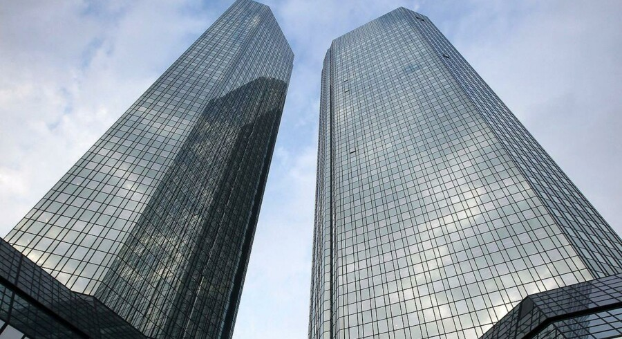 Deutsche Banks hovedkvarter i Frankfurt.