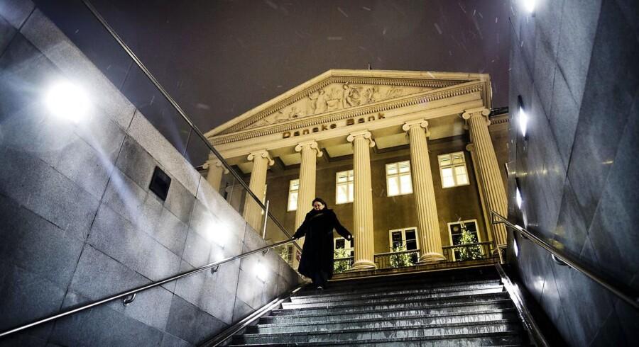 ARKIVFOTO af Danske Banks bygning på Kgs Nytorv i København. (Foto: Thomas Lekfeldt/Scanpix 2013)
