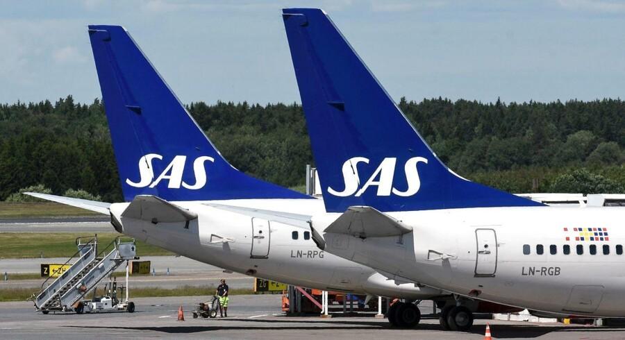 Arkivfoto: SAS fly.