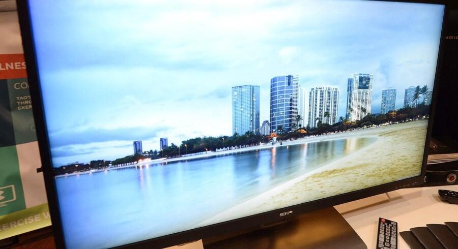 Ultra-HD giver en billedopløsning, der er fire gange højere end dagens fuld-HD, og dermed skarpere billeder. Nu bliver standarden for ultra-HD/Blu-ray-skiver lagt fast, så der ikke opstår en ny formatkrig. Foto: Michael Nelson, EPA/Scanpix