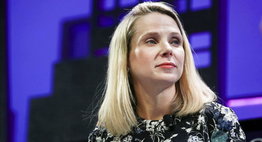 Yahoos topchef, Marissa Mayer, får ikke lov at sælge guldægget, aktieandelen i kinesiske Alibaba, fra. Arkivfoto: Elijah Nouvelage, Reuters/Scanpix