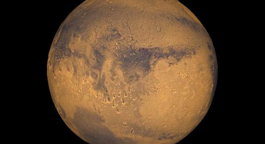 Atmosfæren på Mars mindede før i tiden om jordens.
