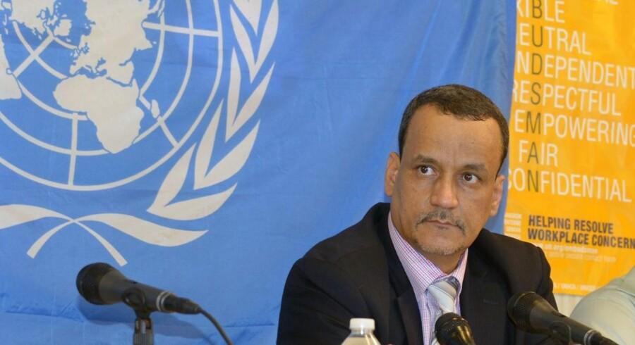 Ismail Ould Cheikh Ahmed, leder af FNs mission mod ebola