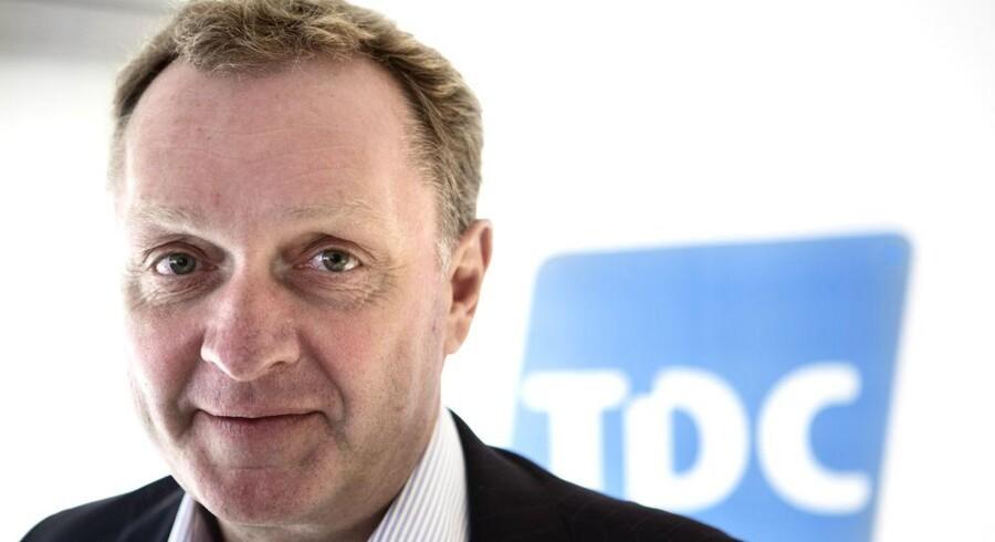 Carsten Dilling rykker nu helt frem i TDC-ledelsen og står som kronprinsen efter blot fire år i Danmarks største teleselskab. Arkivfoto: Jeppe Bøje Nielsen, Scanpix