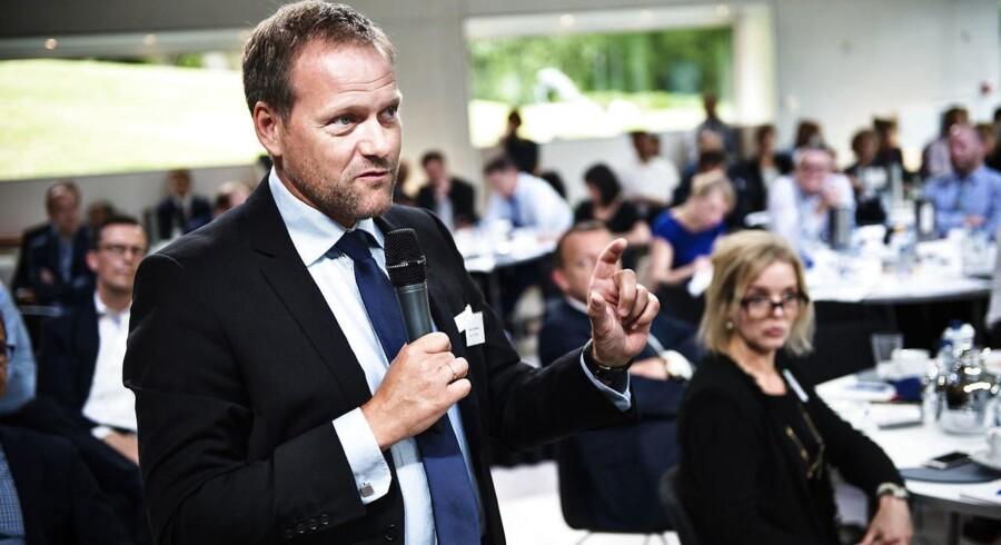 Finansordfører René Christensen (DF) i debat.. (Foto: Mathias Løvgreen Bojesen/Scanpix 2016)