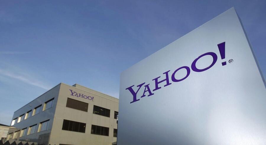 Hvis ikke Yahoo ville udlevere personlige oplysninger til efterretningstjenesterne, ville der vanke dagbøder i millionklassen. Yahoo tabte slagsmålet men får nu dokumenterne frigivet. Arkivfoto: Denis Balibouse, Reuters/Scanpix