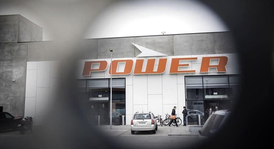 De 27 Media Markt-butikker i Sverige skifter navn til Power. Arkivfoto: Thomas Lekfeldt, Scanpix