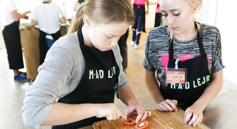 Arlafondens madlejr på Helnæs for folkeskoleelever.