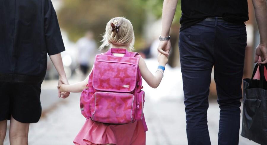 ARKIVFOTO. Der er stor forskel på, hvilke folkeskoler i København, forældre vil have deres barn til at gå på.