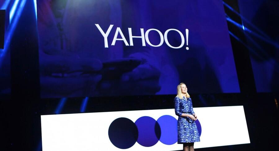 Yahoo CEO Marissa Mayer til Consumer Electronics Show (CES) i Las Vegas, Nevada. REUTERS/Robert Galbraith/Files