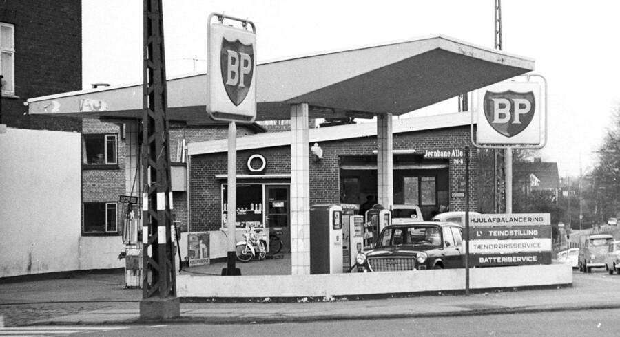 BP tankstation på Jernbane Alle i Vanløse