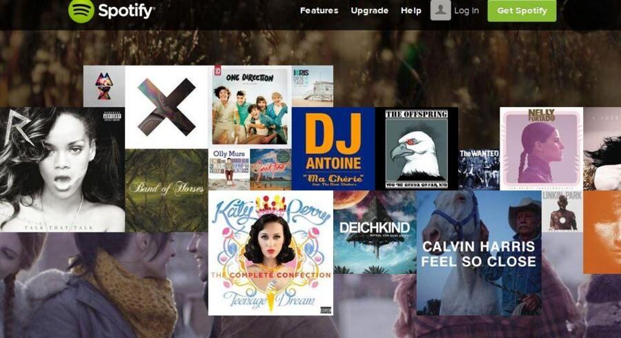 Spotify har nærmest overtaget den svenske musikbranche og har siden 2011 også været med på noderne i Danmark.
