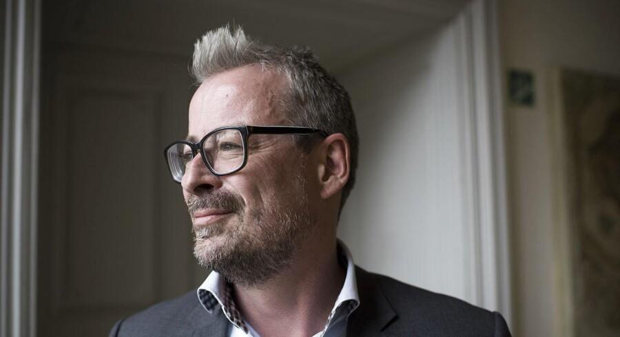 Portræt af Rane Willerslev, som er den nye direktør for Nationalmuseet.