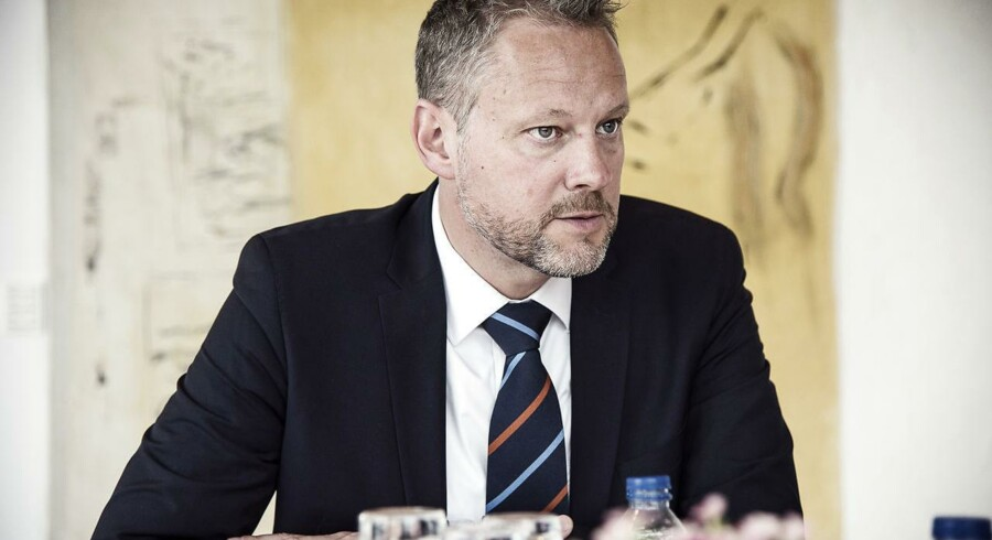 Nordeas danske chef, David Hellemann. (Foto: Ida Marie Odgaard/Scanpix 2016)