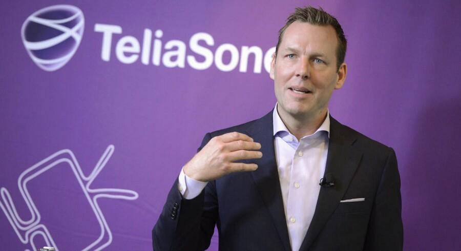 TeliaSoneras topchef Johan Dennelind g