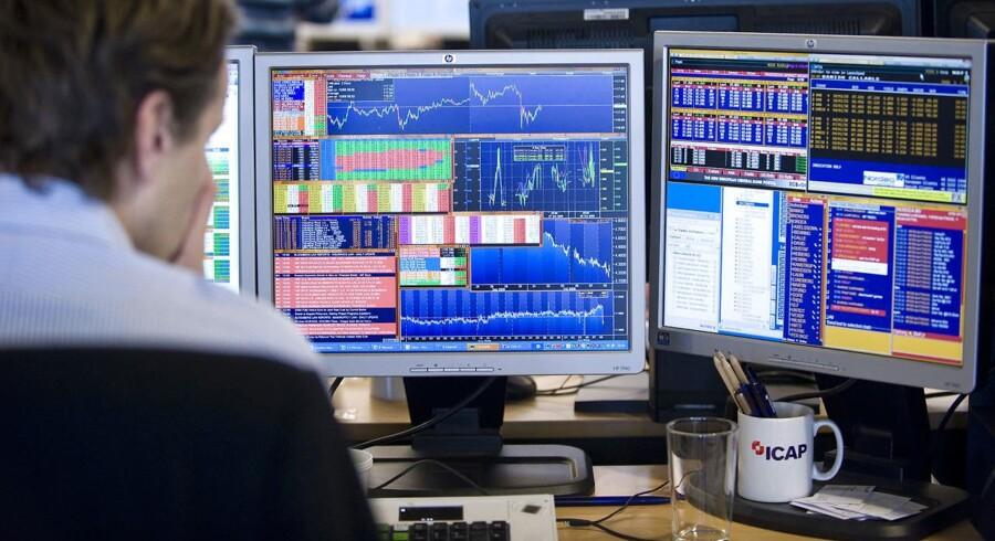 De store hedgefonde og andre massive spekulative interesser i de internationale valutamarkeder har læst markedet forkert for så vidt angår dollar på det seneste. Arkivfoto.
