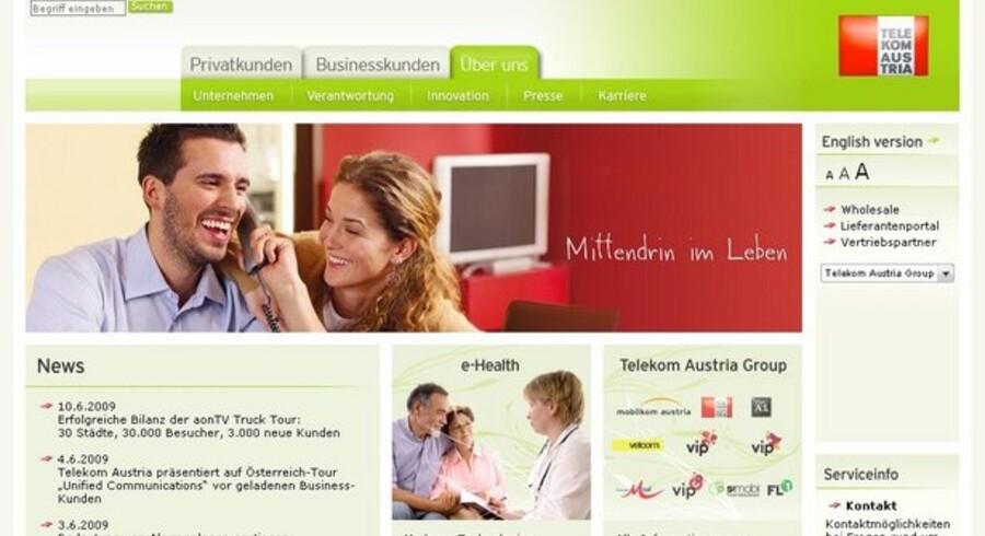 Det østrigske fastnet skal sælges fra, mener den socialdemokratiske regering.