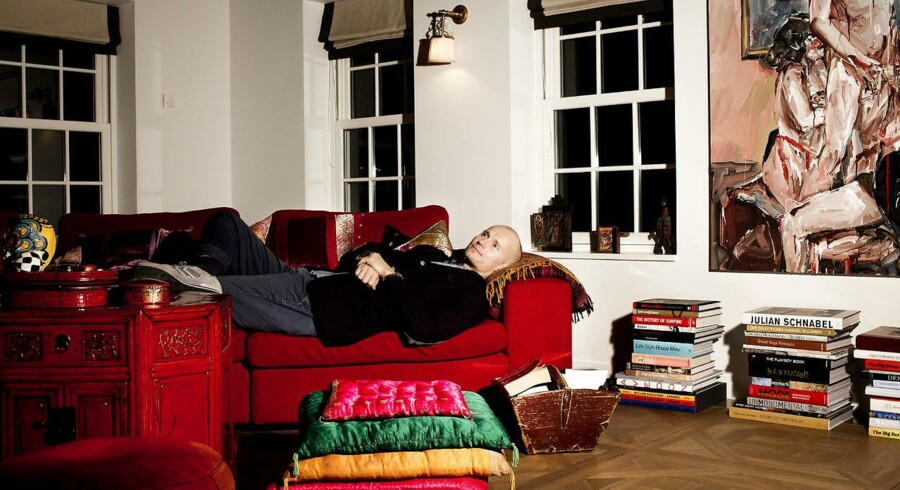 Christian Stadil. Her fotograferet i sit hjem. Arkivfoto.