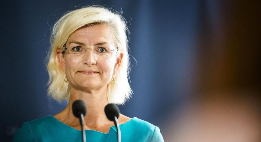 ARKIVFOTO: Forskningsministerminister Ulla Tørnæs. (Foto: Ólafur Steinar Gestsson/Scanpix 2016)