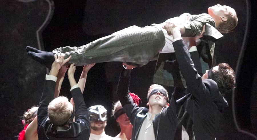 Den Jyske Opera har tidligere haft nye værker på repertoiret - som her i 2013 med »The Picture of Dorian Gray«. Foto: Den Jyske Opera