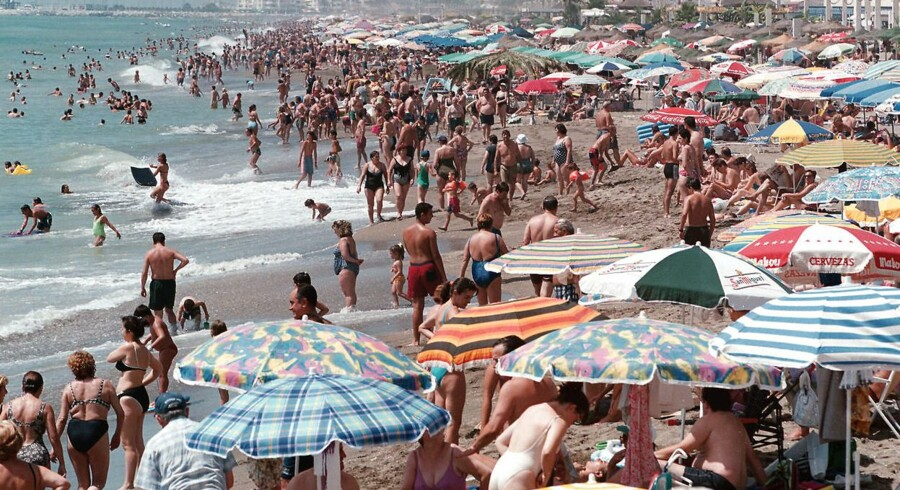 Det populære feriemål Costa del Sol i Spanien.