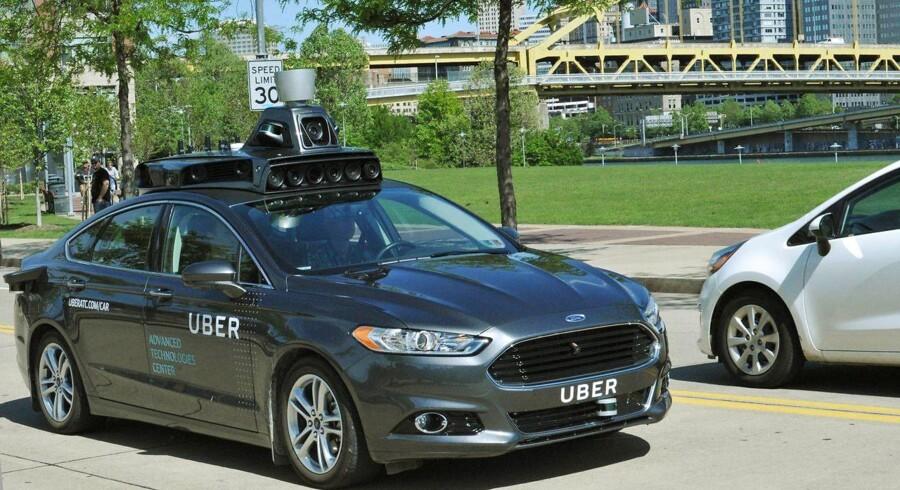 Nu vil Uber tilbyde selvkørende biler.