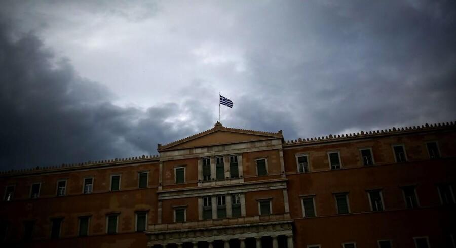 Arkivfoto: Det græske parlament d. 22. maj.