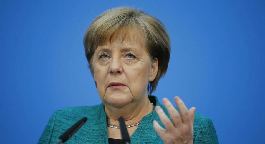 Forbundskansler Angela Merkel siger ifølge Reuters, at hun er overbevist om, at den indgåede koalitionsaftale kan danne grundlag for en god og stabil regering.