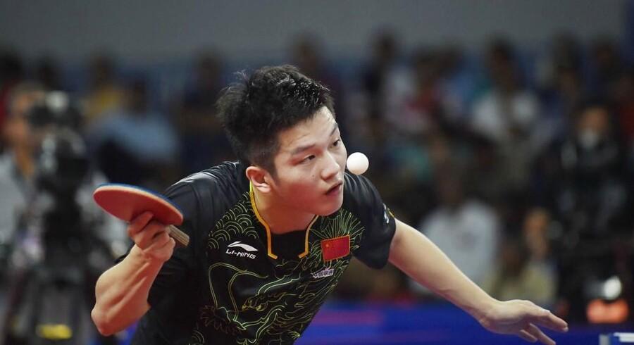 Kinesiske Fan Zhendong, der er nummer to på verdensranglisten, er sikker på at overtage førstepladsen i næste måned.