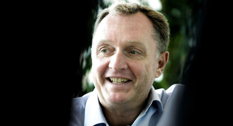 TDC-topchef Carsten Dilling tror på bedring over de næste mange måneder. Arkivfoto: Liselotte Sabroe