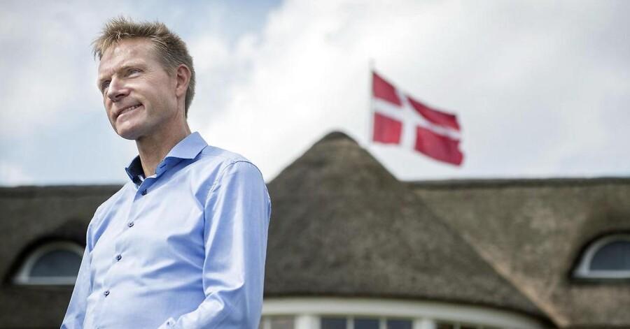 Kristian Thulesen Dahl. Arkivfoto fra partiets sommergruppemøde sidste år. (Foto: Liselotte Sabroe/Scanpix 2017)