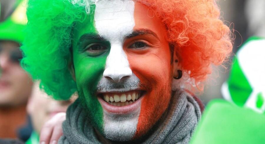 Solen skinner på den irske økonomi.