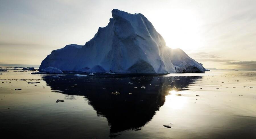 Imponerende naturoplevelser er med til at trække kinesiske turister til Grønland.